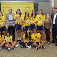 La Fundación Caja de Canarias renueva su apoyo al C.B. Islas Canarias