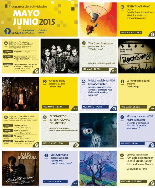 Agenda Mayo-Junio