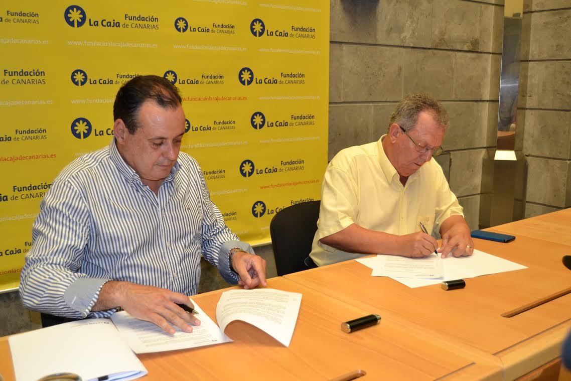 El presidente de la Fundación La Caja de Canarias, Blas Trujillo